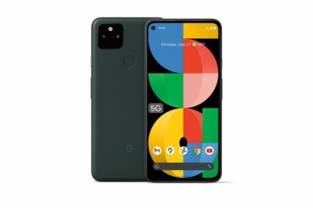 Google анонсировала Pixel 5a with 5G — экран 6,34″, батарея на 4680 мА·ч и защита IP67 при цене $449