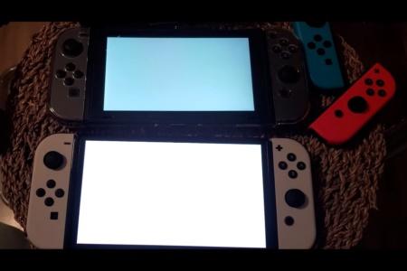 Видео дня: Распаковка новой модели Nintendo Switch OLED и ее сравнение со стандартной консолью