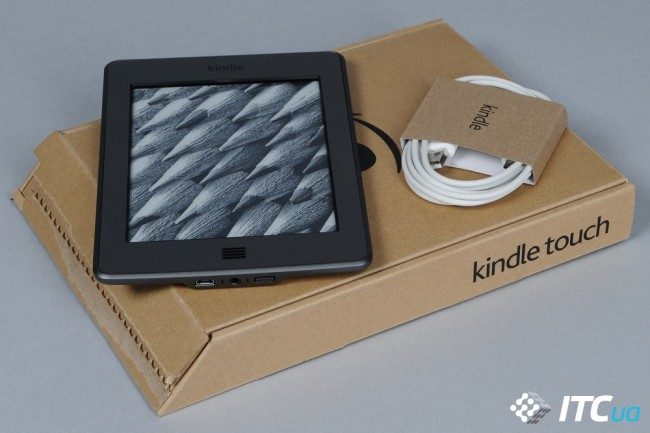 Обзор ридера Amazon Kindle Touch